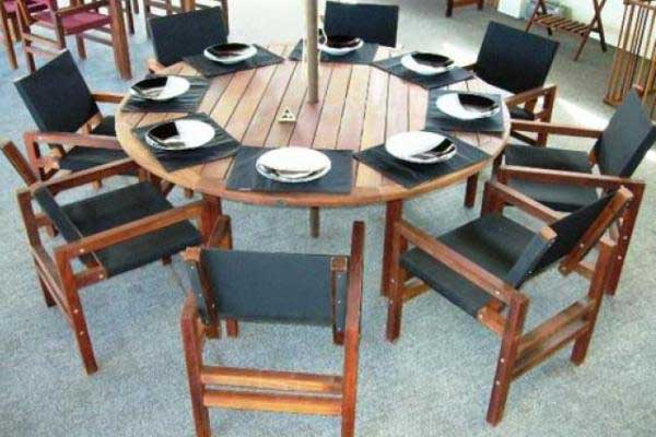 Table for eight auckland designer tables reference for Outdoor furniture auckland