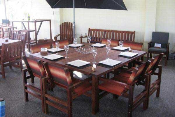 8 Seater Square Table